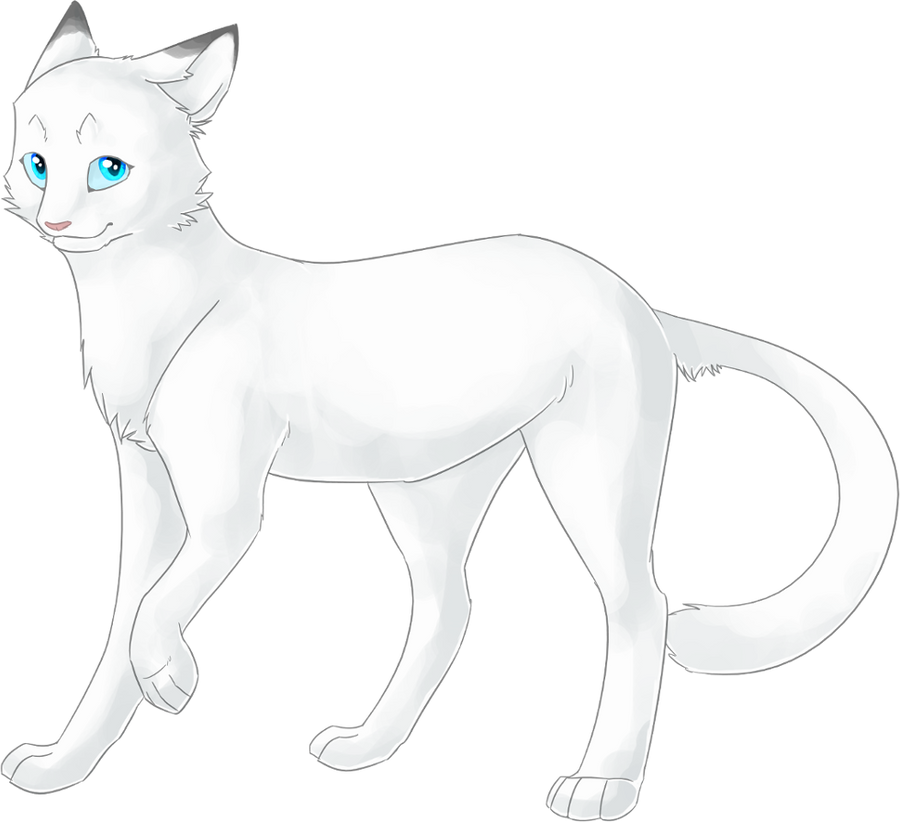 Warrior Cats Thistleclaw And Snowfur Snowfur by mysticmistsong