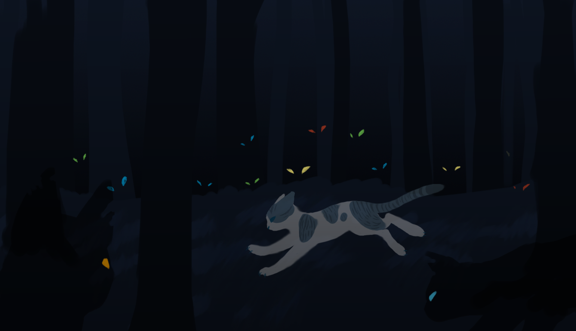 You Can't Escape From Dark Forest by MysticMistSong