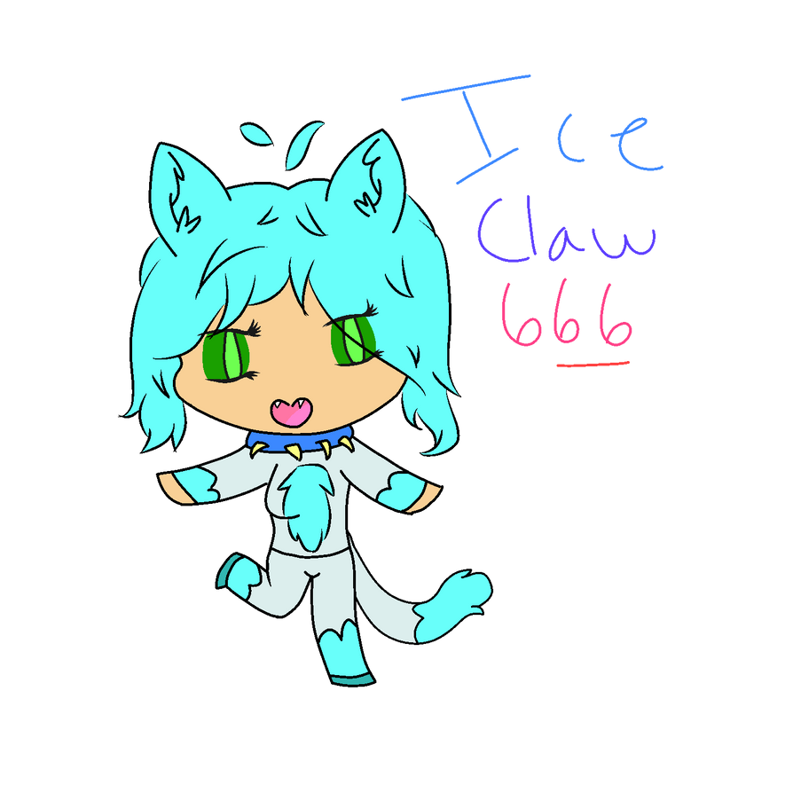 IceClaw666 by Chloe-Doge-Gaming