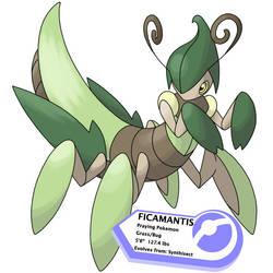 Ficamantis by Blueghosty-Fakemon