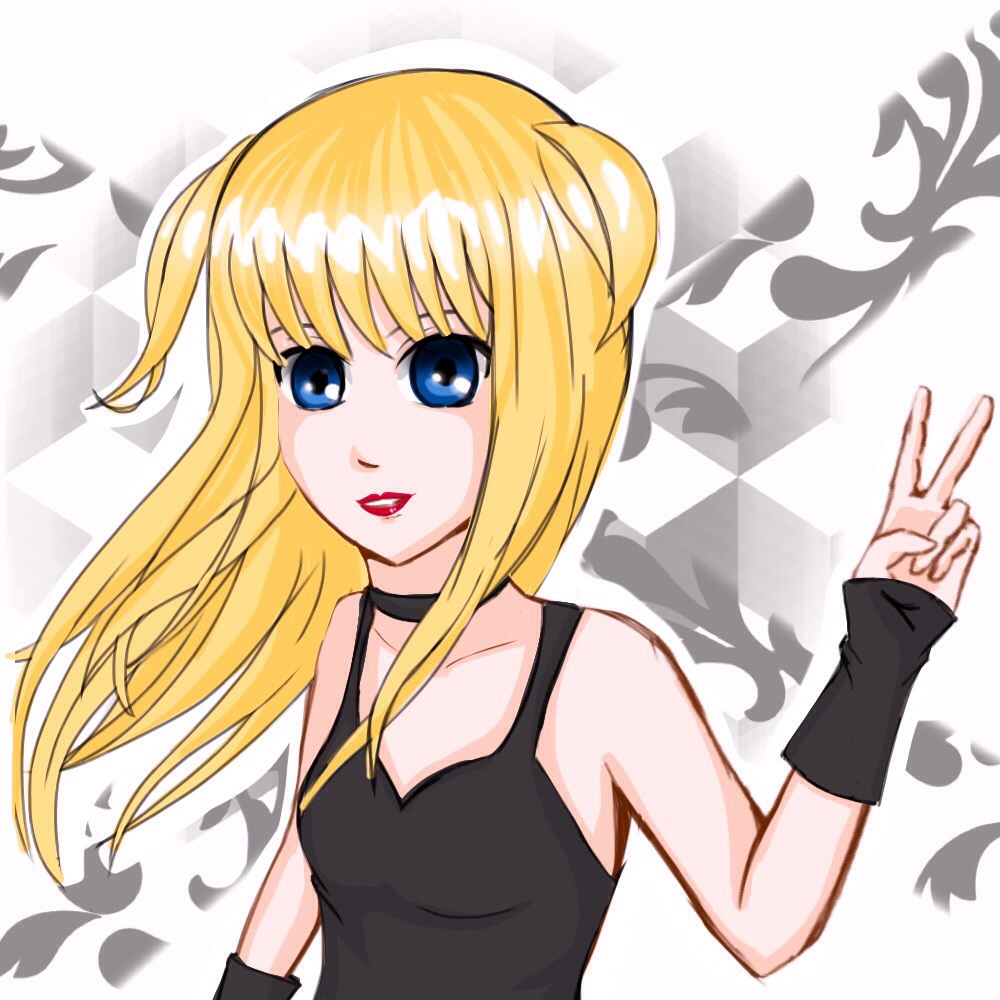 Misa Amane death note by veronica1134