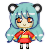 Icon pixel request for Rebeccathepanda by veronica1134