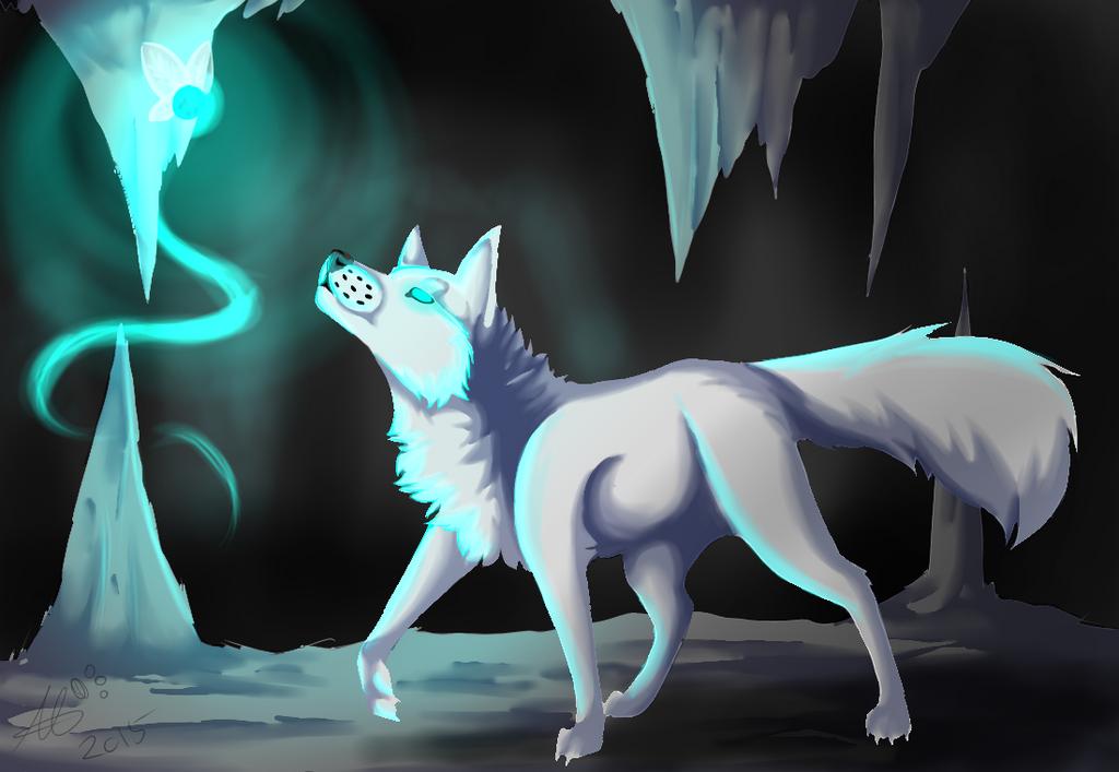Fox Glow :REDRAW: by ElviraTheFennec