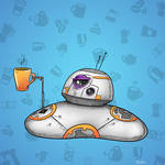 BB8 Before Coffee
