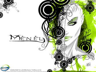 Menel design by particle9