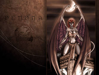 Demona from Gargoyles by particle9