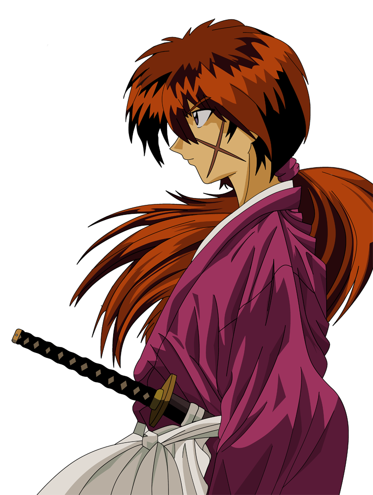 Kenshin Himura by LaggedSnake