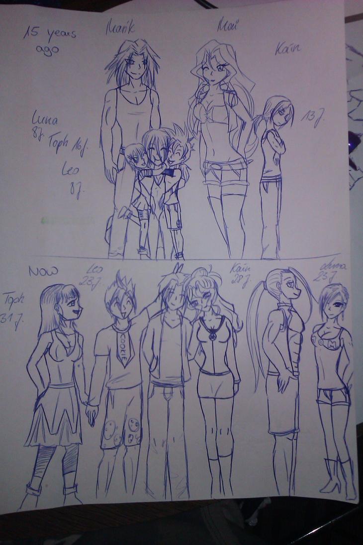 OC Family Ishtar by NorbiDKeks