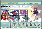 My final Pokemon Team by NorbiDKeks