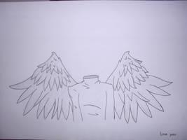 No Head Angel by moguinho