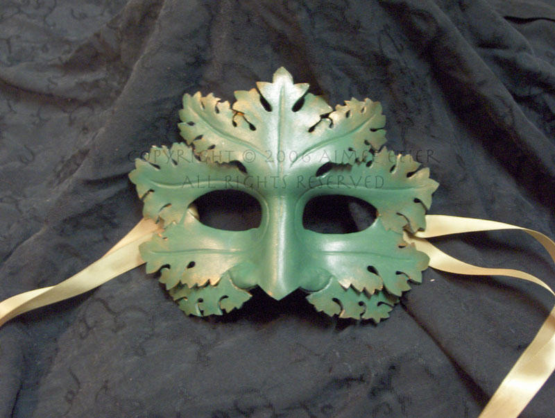 Greenman Mask