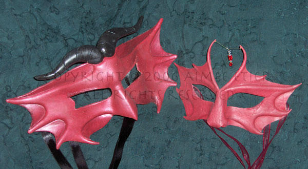 Dragon Masquerade Couple