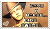 Save a Horse -Steve Burnside- by AngelicHellraiser