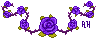 D: Purple Roses by AngelicHellraiser