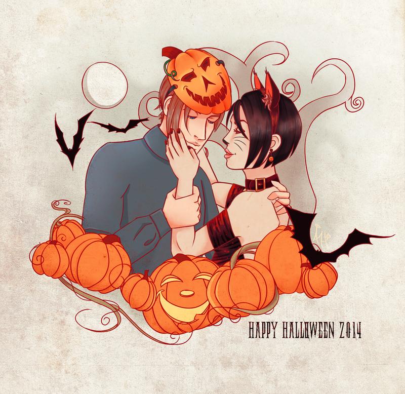FA : Halloween Aeon 2014 by AngelicHellraiser