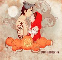 FA : Halloween Reilly 2014 by AngelicHellraiser