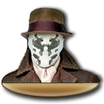Rorschach Dock Icon by Krysalid