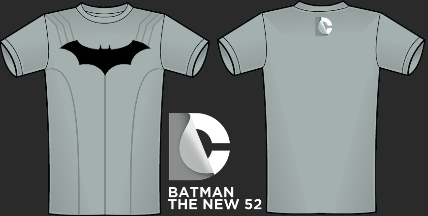 The New 52: Batman Shirt WIP by Krysalid