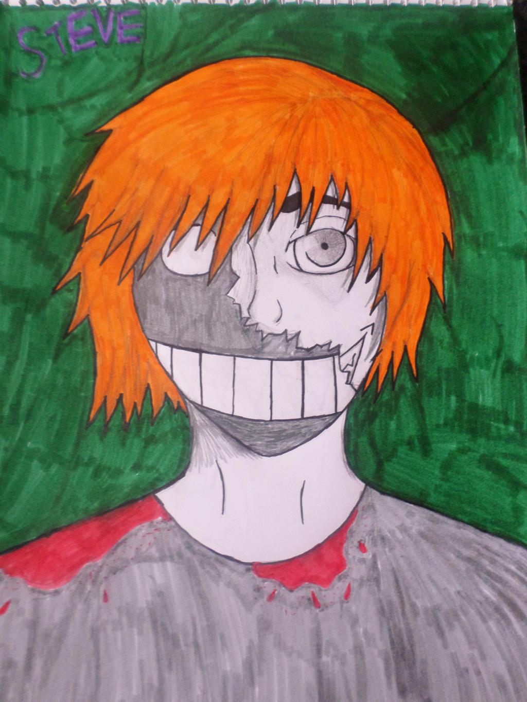 Steve: The broken mask by Zahyebah