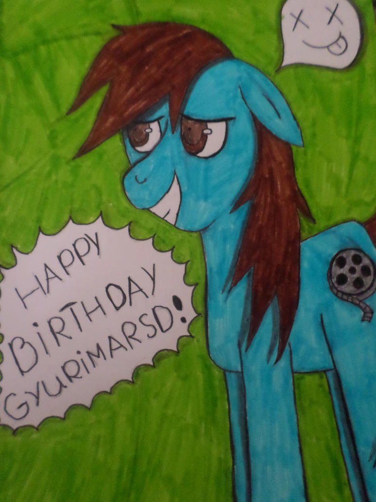 Happy Birthday by Zahyebah
