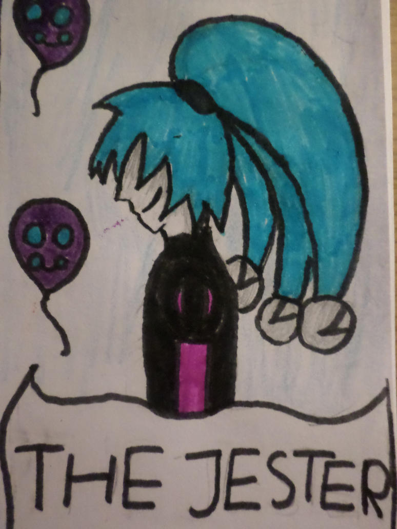 Tarot: The Jester by Zahyebah