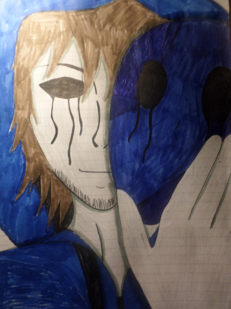 Eyeless Jack: Tis is my face by Zahyebah
