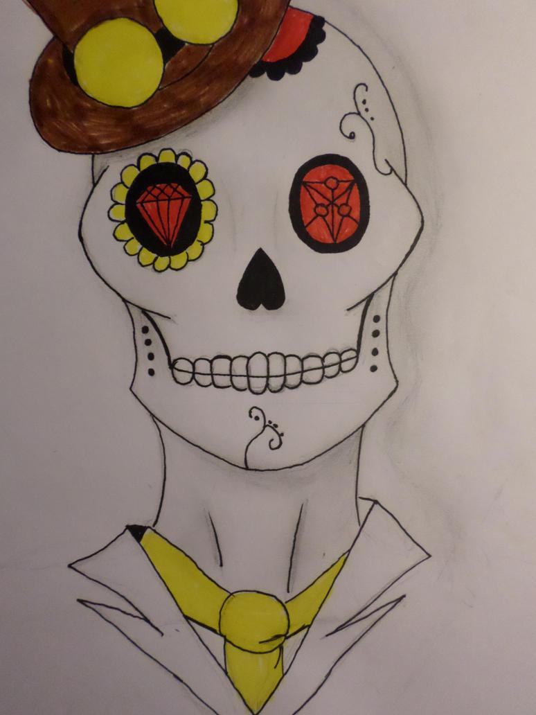 Gentle Man: The Sugar Skull by Zahyebah