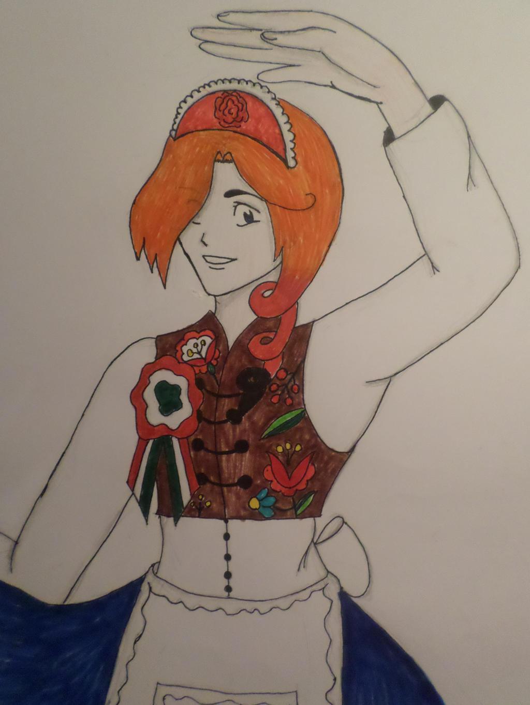 The dancing queen by Zahyebah