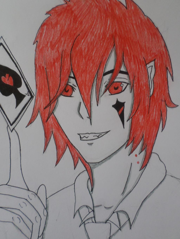 Red magic by Zahyebah
