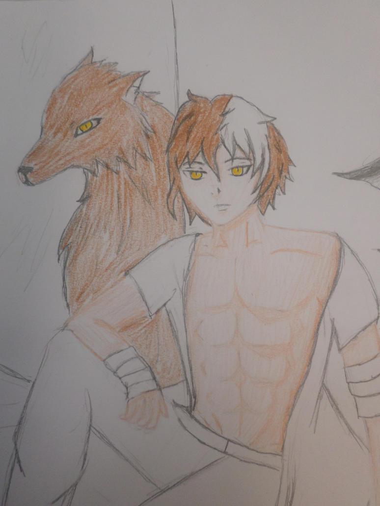 The sexy wolf! by Zahyebah