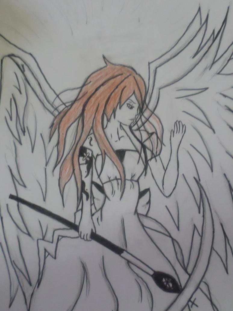 Vicky the Seraph by Zahyebah