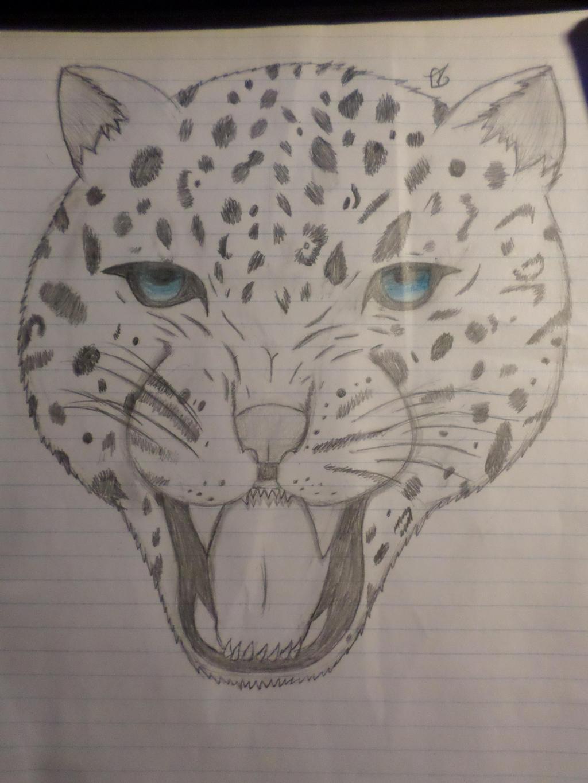 Leopard by Zahyebah