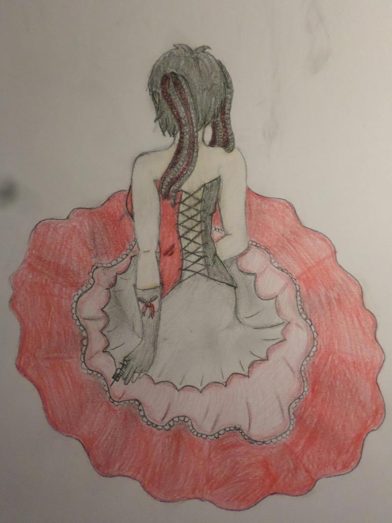 Jinx in fancy dress by Zahyebah