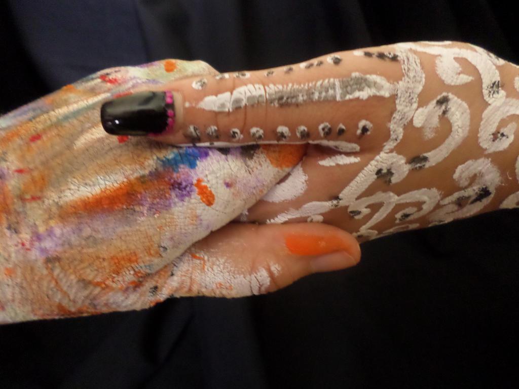 Hands. by Zahyebah