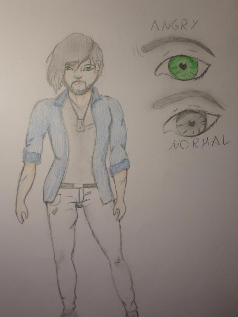'Alex' (creepypasta oc) by Zahyebah
