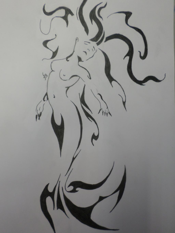 Mermaid by Zahyebah