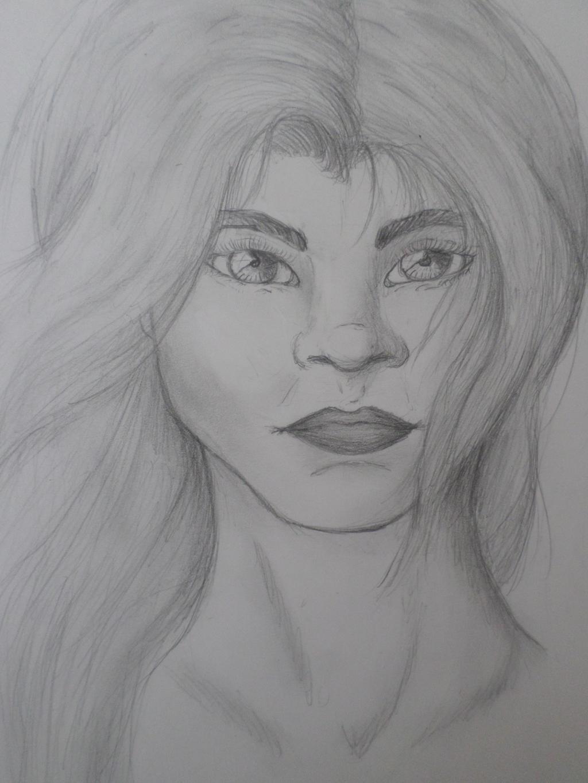 (portrait) Hannah by Zahyebah