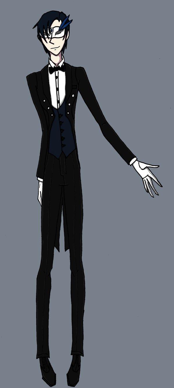 Cedric the Masked Demon butler by Zahyebah