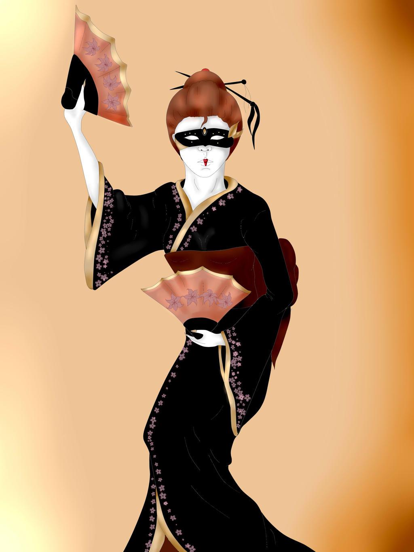 Esther in kimono~ by Zahyebah