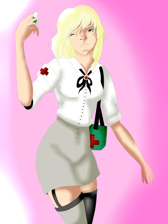 Mara (nazi persona redesign) by Zahyebah
