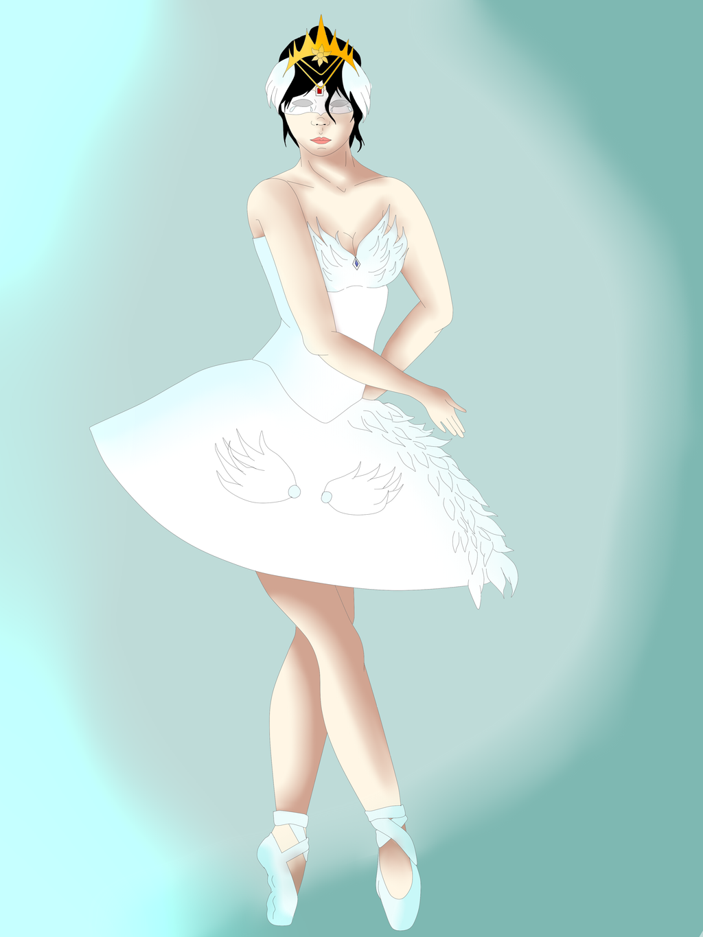 Giselle the ballerina by Zahyebah