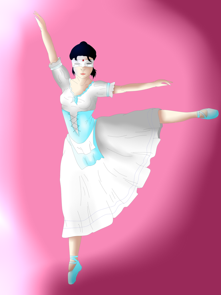 Giselle dancing Giselle by Zahyebah
