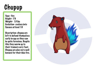 fakemon-Chupup by TV-QueenMaster