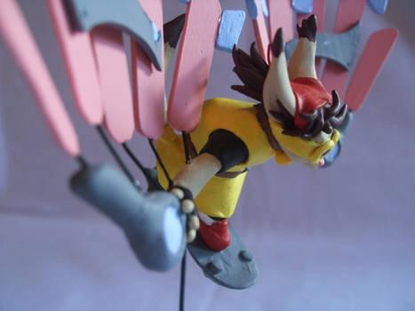 Rin's Glider: Side View