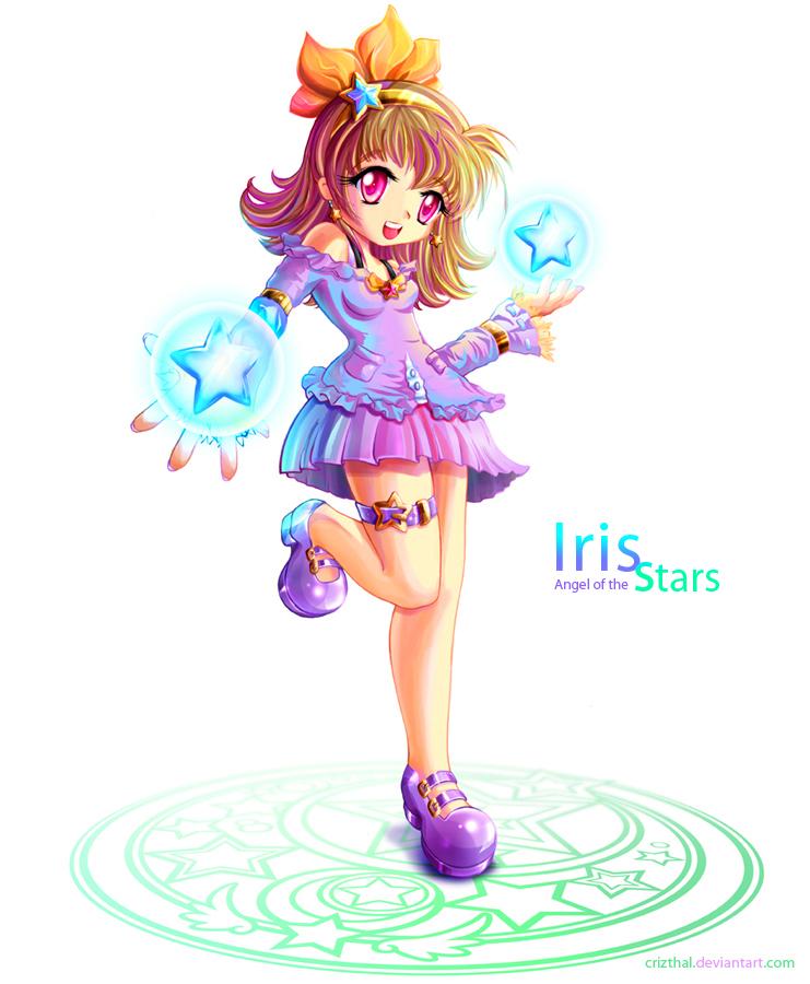 Iris star by Crizthal