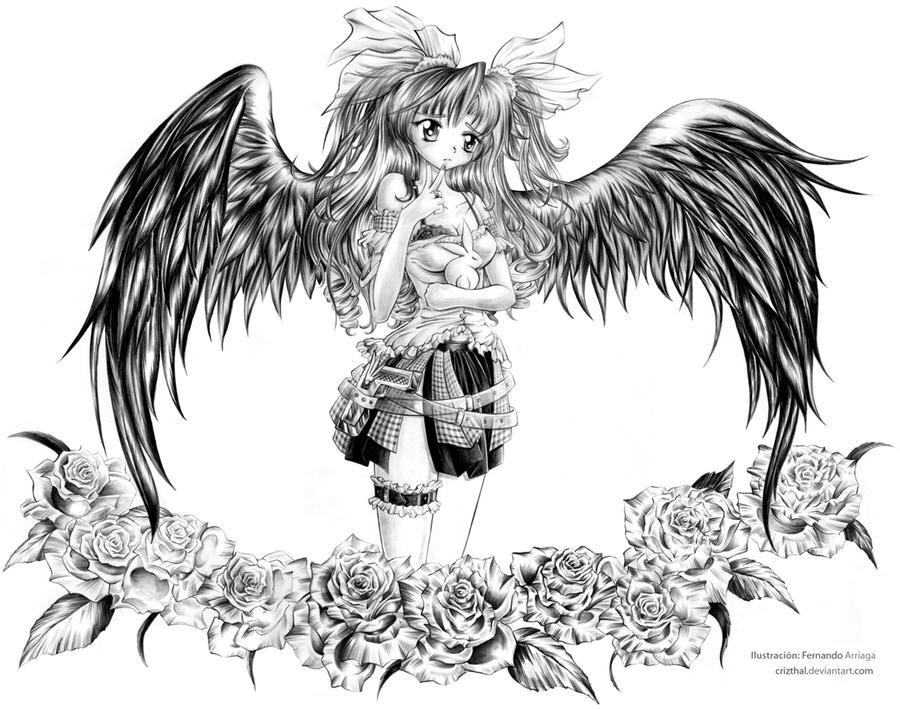 Dark Angel Adriana by Crizthal