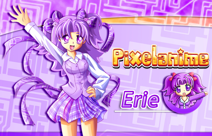 Pixelanime Girl Erie by Crizthal