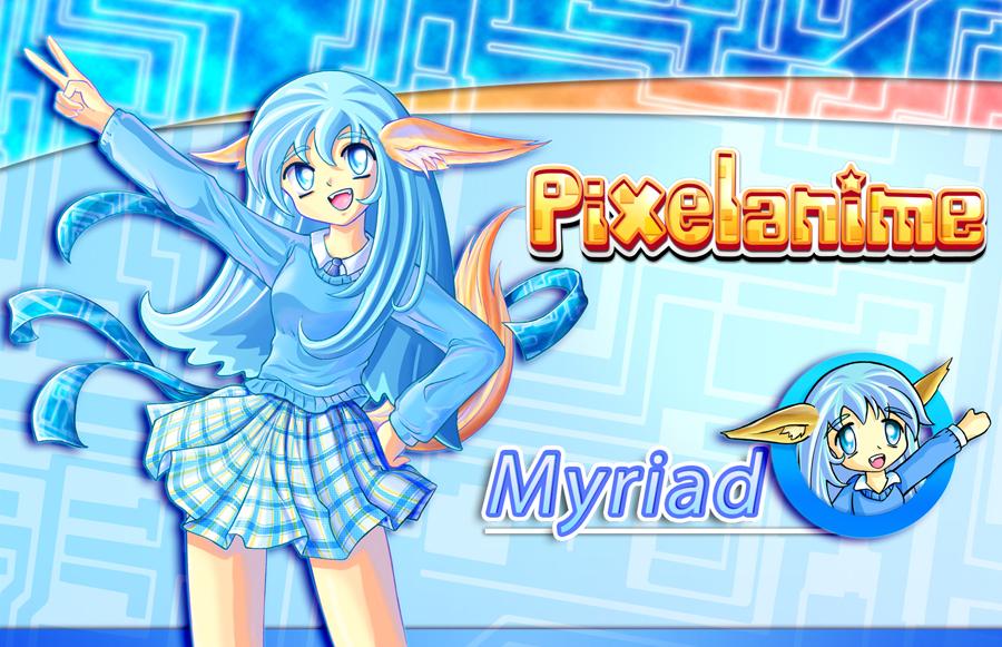 Pixelanime Girl Myriad by Crizthal