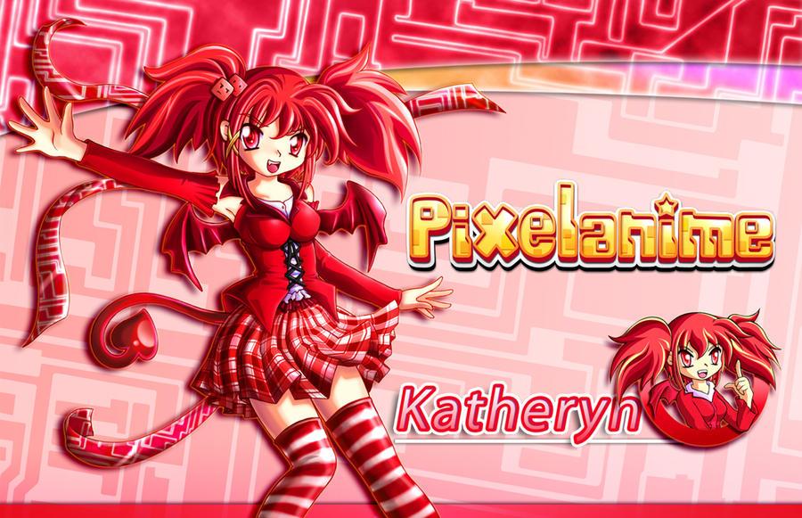 Pixelanime Girl Katheryn by Crizthal