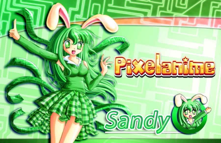 Pixelanime Girl Sandy by Crizthal